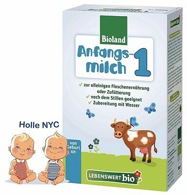 Holle Lebenswert Stage 1 Organic Formula,500g  05/2019  FREE PRIORITY MAIL
