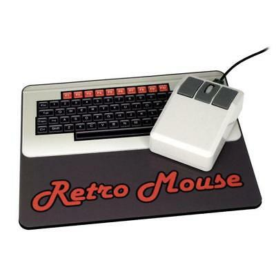 Retro Style Computer Mouse - USB Optical PC Mac Mice 1980s 80s