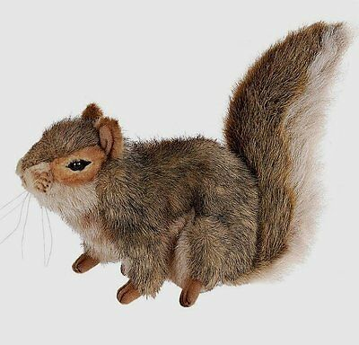 hansa plush red squirrel 3745 realistic stuffed animal handmade collectable. Black Bedroom Furniture Sets. Home Design Ideas