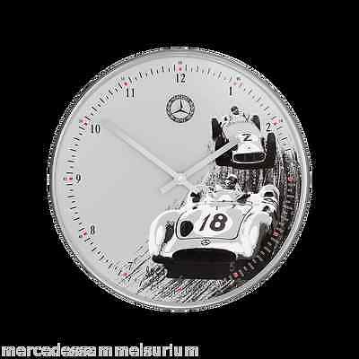 Mercedes Benz Genuine Wall Clock Classic Heritage Quartz
