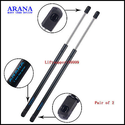 2pcs Rear Window Glass Gas Lift Supports Struts Shocks For 2001-2007 Ford Escape