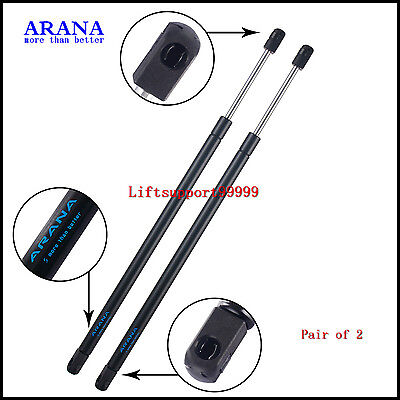 2pcs Front Hood Gas Springs Lift Supports Struts Shocks For 98-02 Honda Accord
