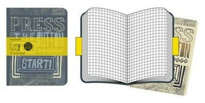 Moleskine Cover Art Start Squared Journal 9788862936354 by Moleskine, Notebook