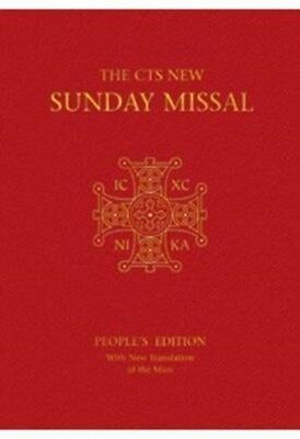 Sunday Missal: People's Edition with New Translation of the Mass 9781860827396