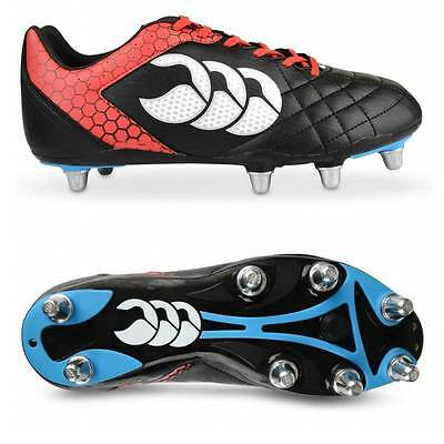 Canterbury Stampede Club 8 Stud Rugby Boots Sizes:(UK 9 & 12) E22354-989