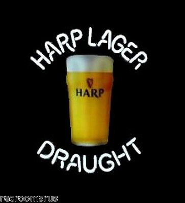 HARP LAGER DROUGHT NEON light brand new old stock limited warranty Guinness