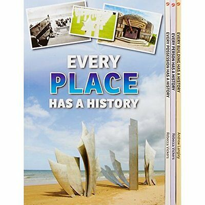 Everything Has History Pack A Langley Vickers Raintree Paperback . 9781406272833