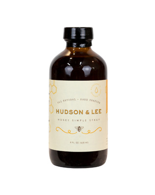 Hudson & Lee Honey Simple Syrup 236ml