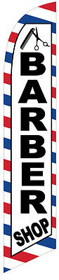 NEW Barber Shop Feather Banner Swooper Flag - FLAG ONLY