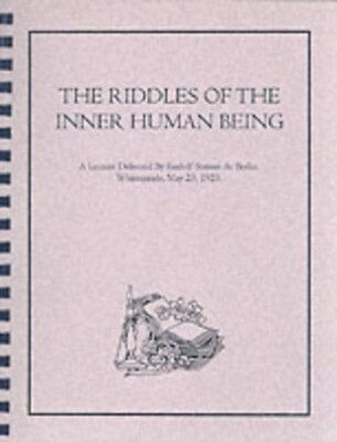 RIDDLES OF THE INNER HUMAN BEING 9780787308353, Paperback, BRAND NEW FREE P&H