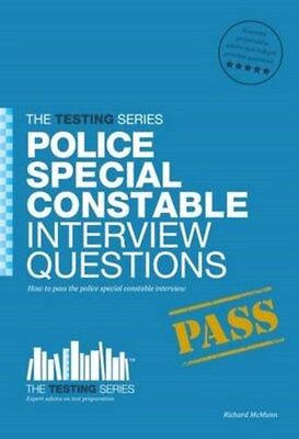 Police Special Constable Interview Questions and Answers 9781907558320, McMunn