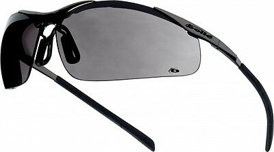 Bolle CONTOUR Metal Frame Safety Glasses/Spectacles Smoke Lens CONTMPSF
