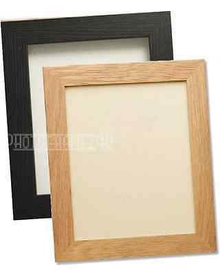 Black&Oak Picture Frame Poster Photo Frame Wooden Effect Various Sizes Available