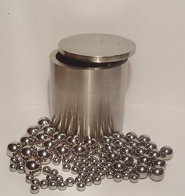 100ml Stainless Steel Lab Planetary Ball Mill Grinding Jar  AISI 321