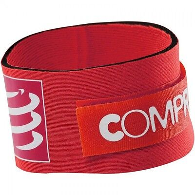 Compressport Timing Chip Strap - Red