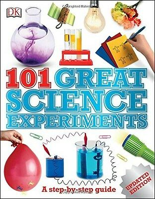 101 Great Science Experiments 9780241185131, Paperback, BRAND NEW FREE P&H