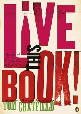 Live This Book 9781405919364 by Tom Chatfield, Paperback, BRAND NEW FREE P&H
