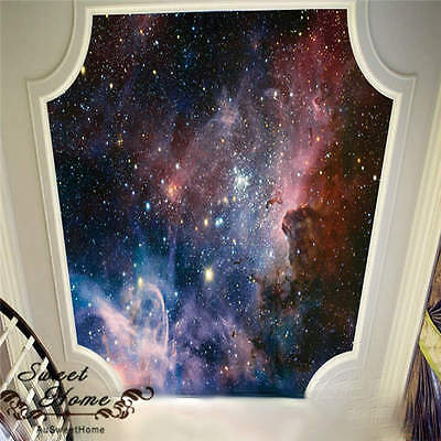 3D Nebula Outer Space Universe  Wallpaper Full Wall Mural Photo Printed Home Dec