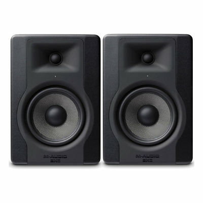 M-Audio BX5 D3 Powered Studio Reference Monitor (Pair) **BRAND NEW** MAudio BX-5