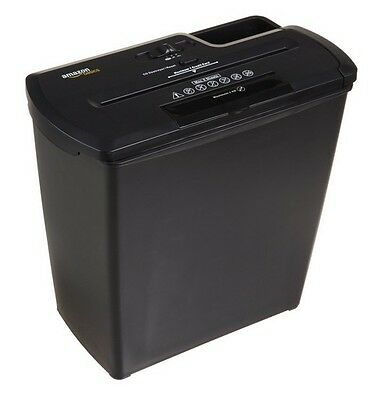 Strip-Cut Shredder w Basket Paper/CD/Credit Card Office Home Business Heavy Duty