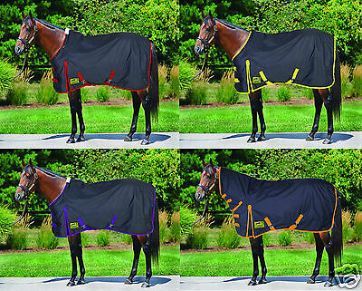 L/W/Med/Heavy Weight Turnout Rug Standard Neck or Combo All Sizes 4 Styles