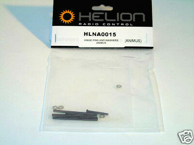 HLNA0015 Helion Radio Controlled R/C Car Spares Hinge Pins,Washers Animus 4 x 4