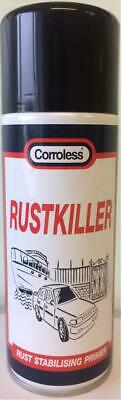 Corroless Rust Converter Killer Rustproofing Primer 400ml  INDUSTRIAL QUALITY