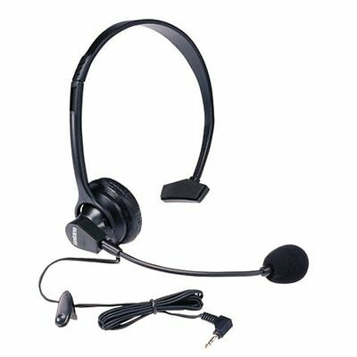 2 X Uniden+Panasonic Original Genuine Corded Headset For Cordless Phone 2.5Mm