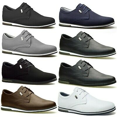 Mens Designer Casual Smart Boys School Formal Suede Party Dress Shoes Trainers