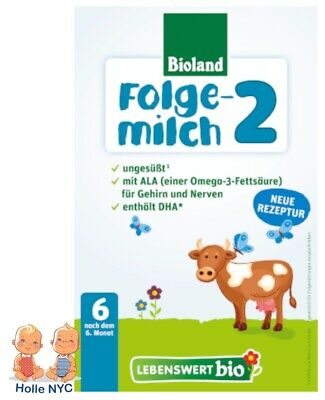**FREE PRIORITY MAIL** Holle Lebenswert Stage 2 Organic Formula,500g 06/2019