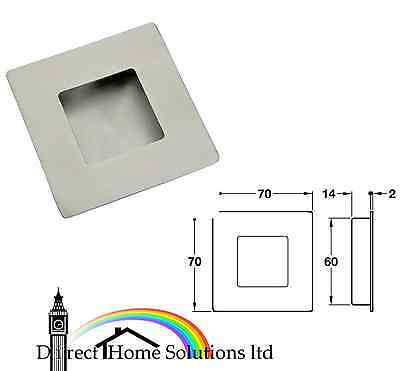 HAFELE Flush pull handle, 70 x 70 mm