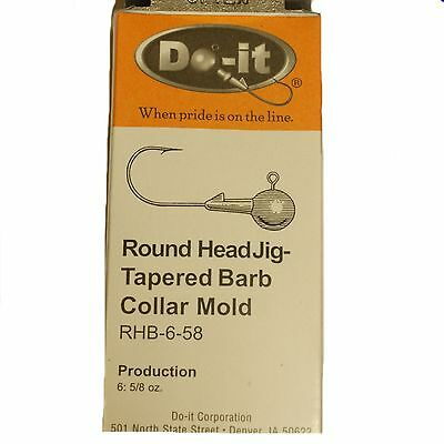 Do-It Round Head Jig-tapered Barb Collar Mould