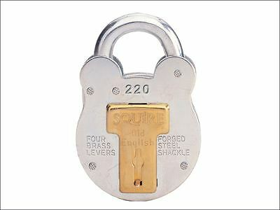 Henry Squire - 220 Old English Padlock with Steel Case 38mm