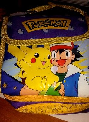 Pokemon  - Borsa Termica - Frigo - Due scoparti -  Nuovo