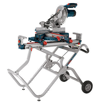 Bosch T4B 16-Foot Rapid Release Tool Mount Miter Saw Gravity-Rise Stand