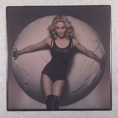MADONNA Ceramic Tile Coaster Art Photo