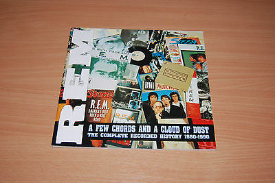 REM BOOK - COMPLETE RECORDED HISTORY 1980-1990 A Few Chords & A Cloud Of Dust