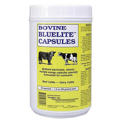 BlueLite Bovine Electrolyte Capsules (50 count)