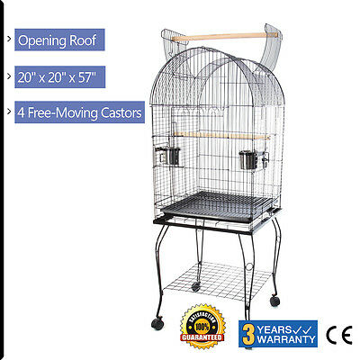 Tall Large Metal Bird Cages Canary Budgie Parakeet Cockatiel Finch Lovebird Cage