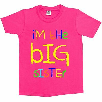 I'm The Big Sister Funny Kids Girls T-Shirt