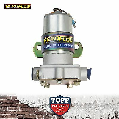 Aeroflow 110GPH 14 PSI Blue Electric Fuel Pump AF49-1009 for Holley & Demon Carb