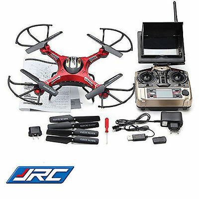 FPV JJRC H8D 6-Axis Gyro RC Quadcopter Drone 5.8G Real Time HD Camera + 2Battery