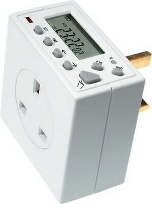 Plug In Timer   24 Hour / 7 Day Electronic Timeswitch   Timeguard TG77