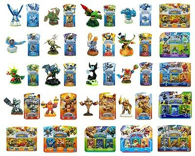 BNiB SKYLANDERS GIANTS SPYRO'S ADVENTURE SWAP FORCE TRAP TEAM SUPERCHARGERS NEW