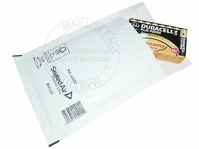 Mail Lite Bubble Lined Mailer All Sizes Available White Padded Mailing Envelope