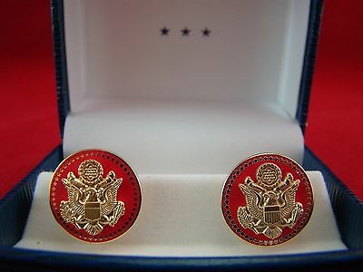 New 50 Star Red Senate - House Of Representatives - Presidential Style Cufflinks