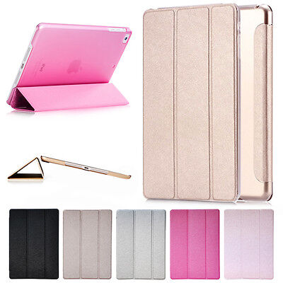 New Smart Stand Magnetic Leather Case Back Cover For Apple iPad Air 2 iPad 6