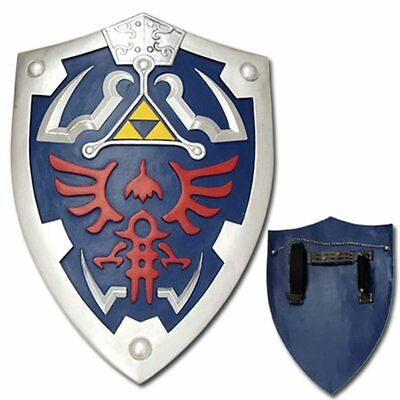 Legend of zelda Ocarina of time link's Hylian Shield with Grip & handle cosplay