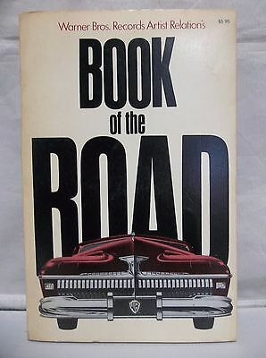 1975 Warner Bros Book of the Road Softcover 1st Edition Travel Info GD Condition
