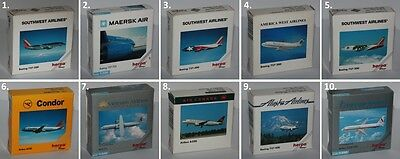 Herpa Wings-Aircraft-Boeing-ATR-Airbus-Collectible Edition-Scale 1:500-very rare